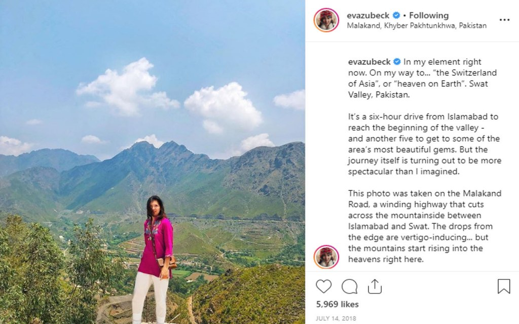 Eva zu Beck visited Pakistan and cleared the negative image of Pakistan