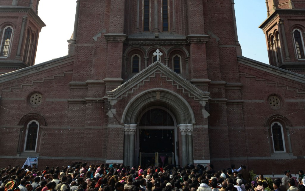 Sacred heart in Lahore