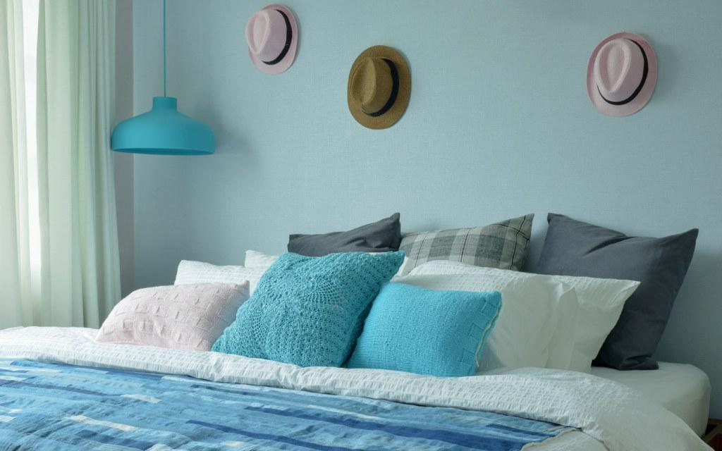 Blue Colour Bedroom