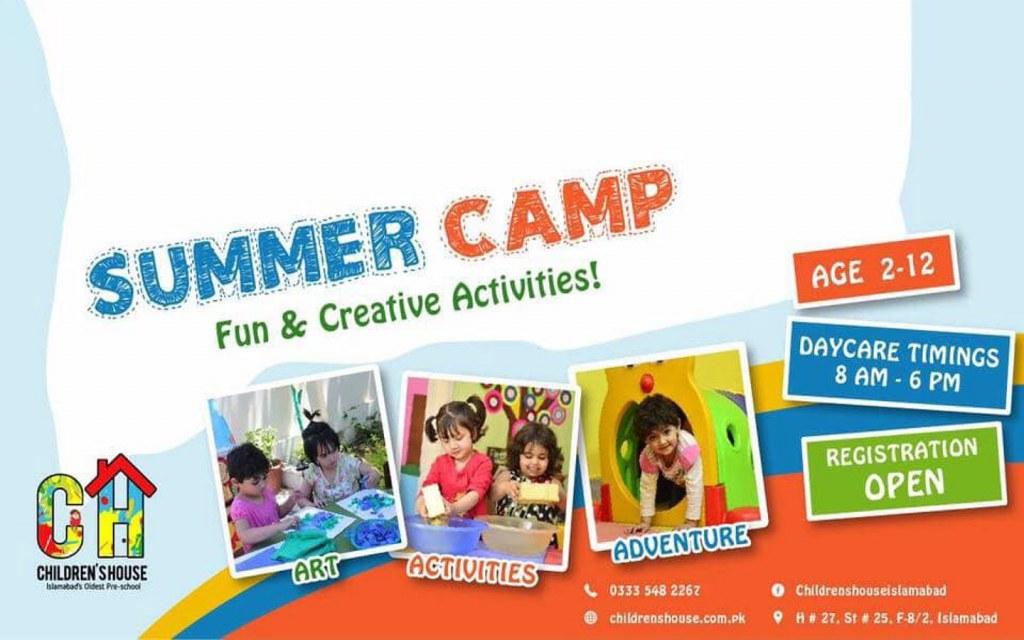 Summer camp for preschoolers