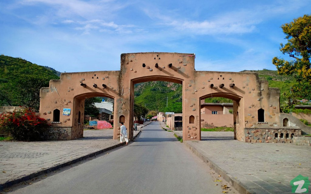 Gate of the Revived Saidpur Village That Can Take Tourists Into an Ancient Era