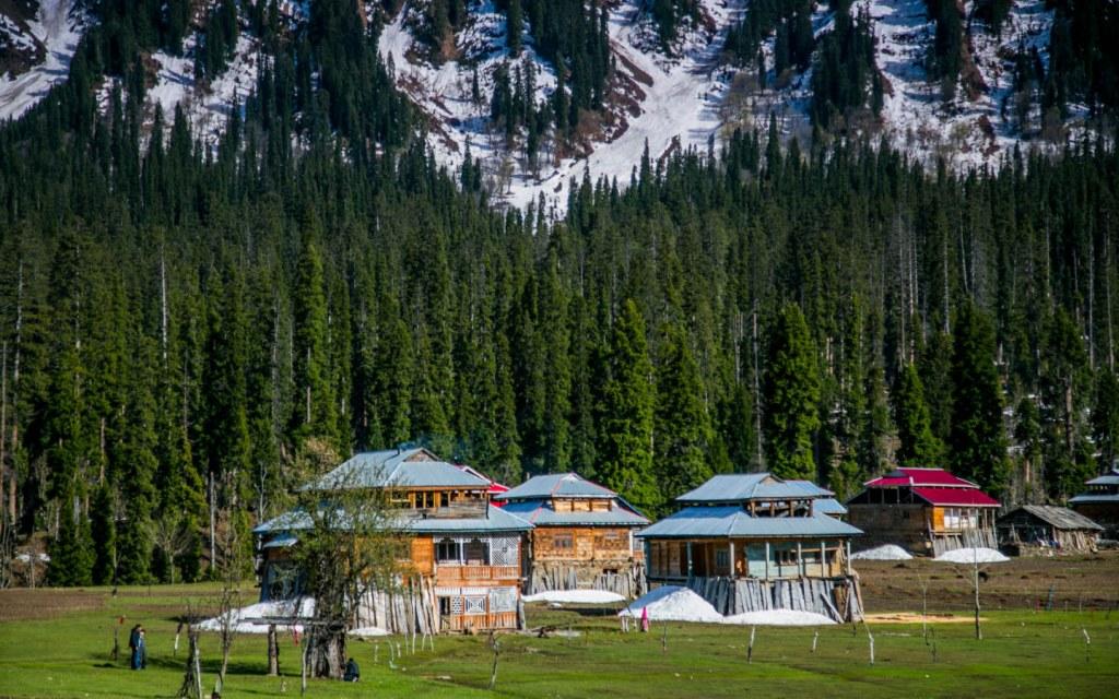 Tourist destination in northern areas of Pakistan