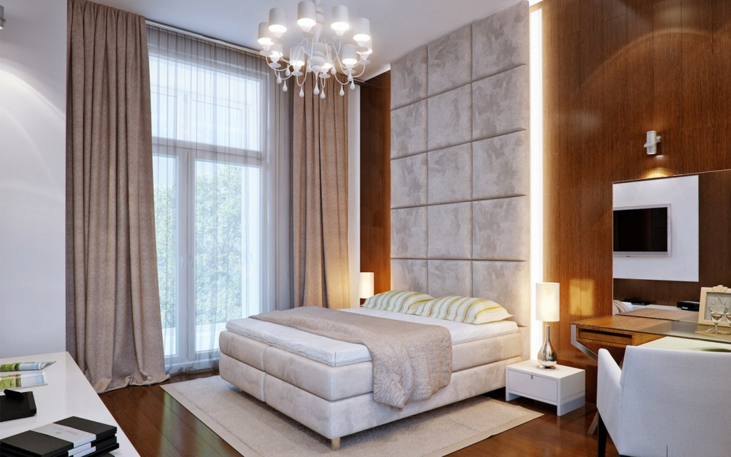 Brown Colour Bedroom