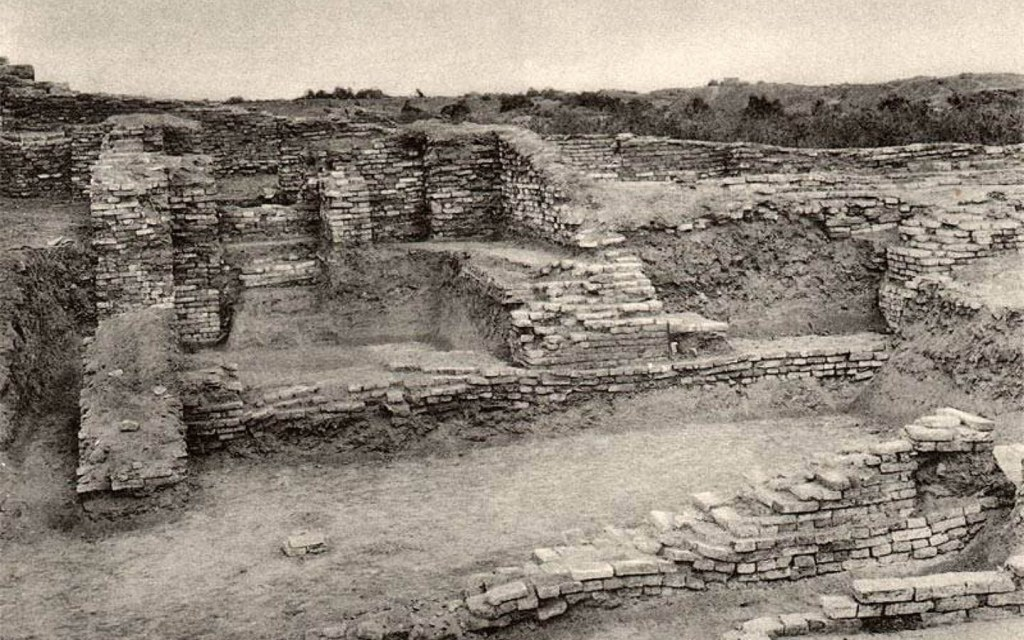 Historical site of Harappa