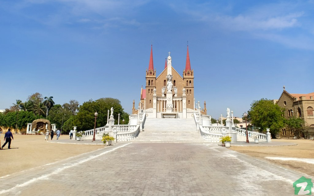 St. Patrick's Cathedral in Karachi is one of the biggest churches in the country