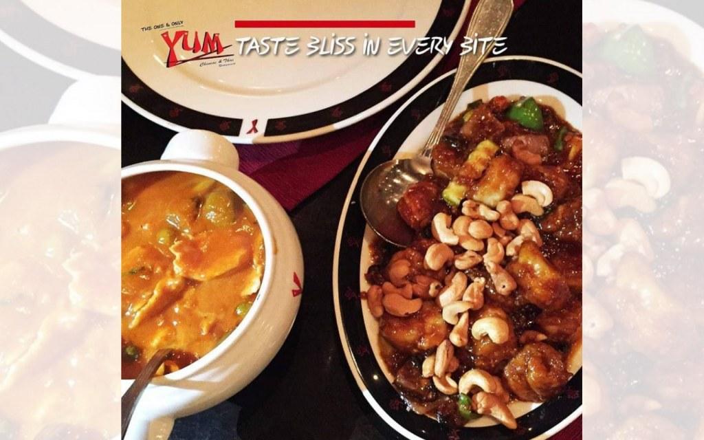 Yum Chinese and Thai restaurant in Gulberg Lahore