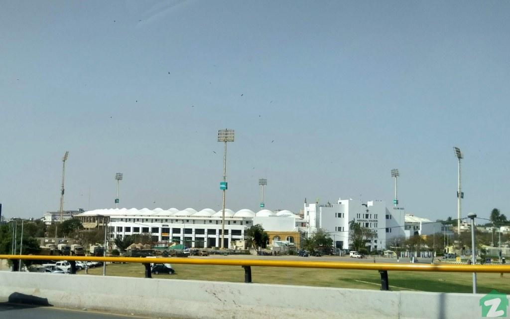 National Stadium is the largest cricket stadium in Pakistan