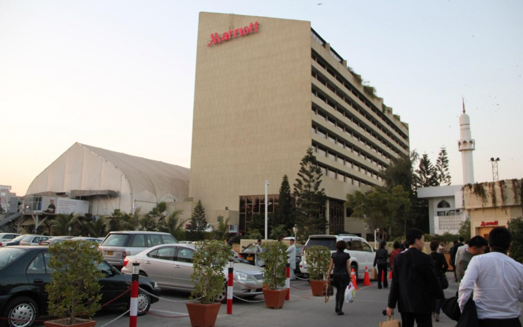 marriott hotel in karachi