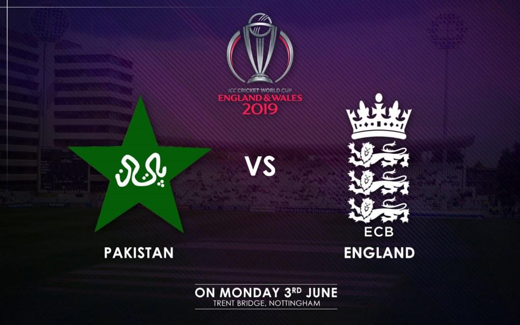 Pakistan vs. England Match Schedule