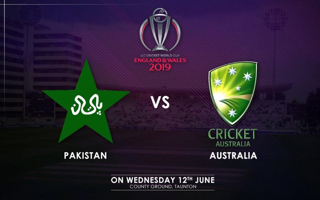 Pakistan vs. Australia Match Schedule