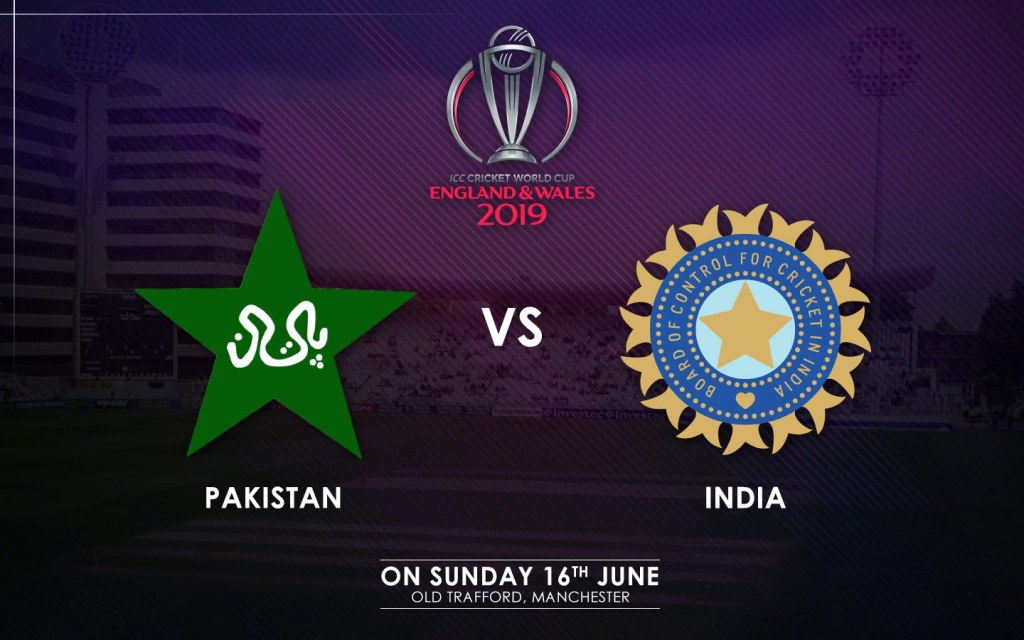 Pakistan vs. India Match Schedule