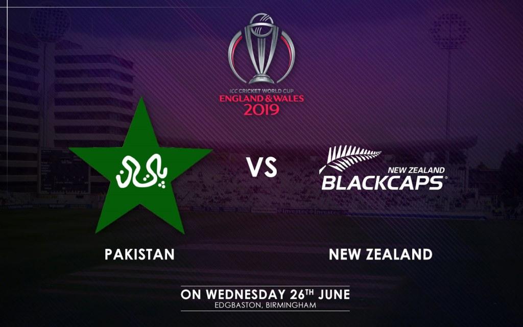 Pakistan vs. New Zealand Match Schedule
