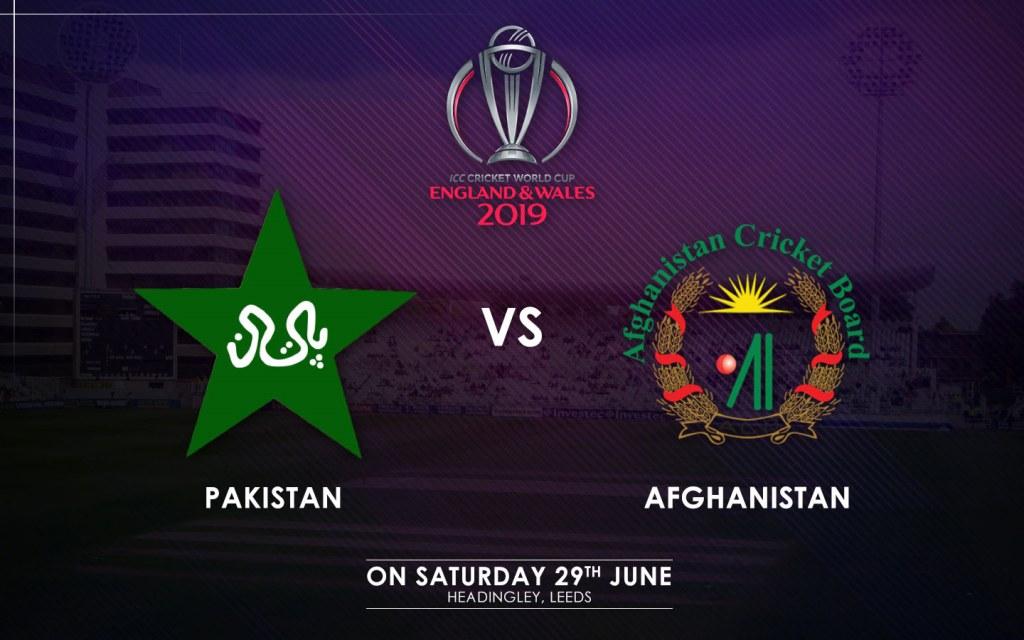 Pakistan vs. Afghanistan Match Schedule