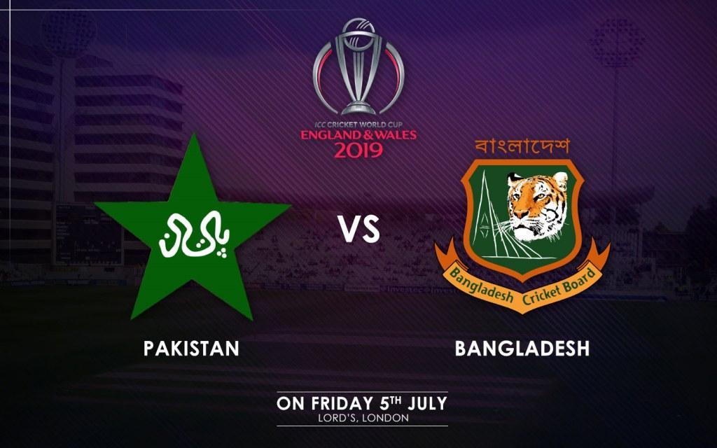 Pakistan vs. Bangladesh Match Schedule