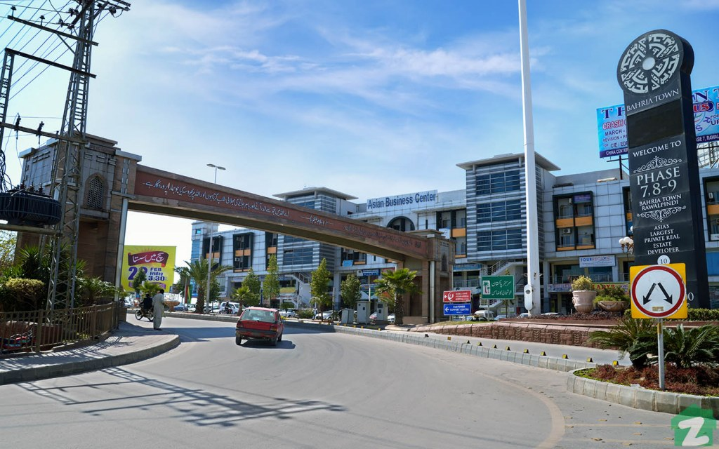 Phases 7, 8 and 9 of Bahria Town Islamabad are located in Rawalpindi