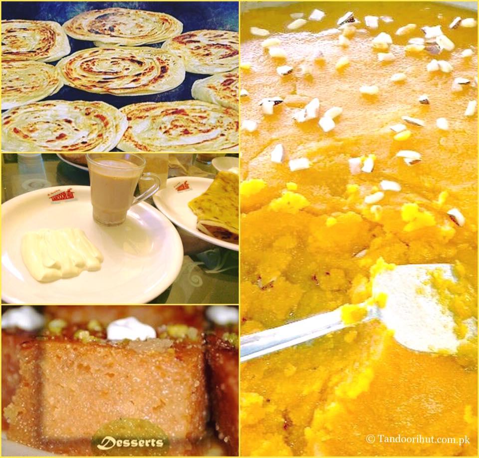 Chai paratha is a breakfast staple in karachi