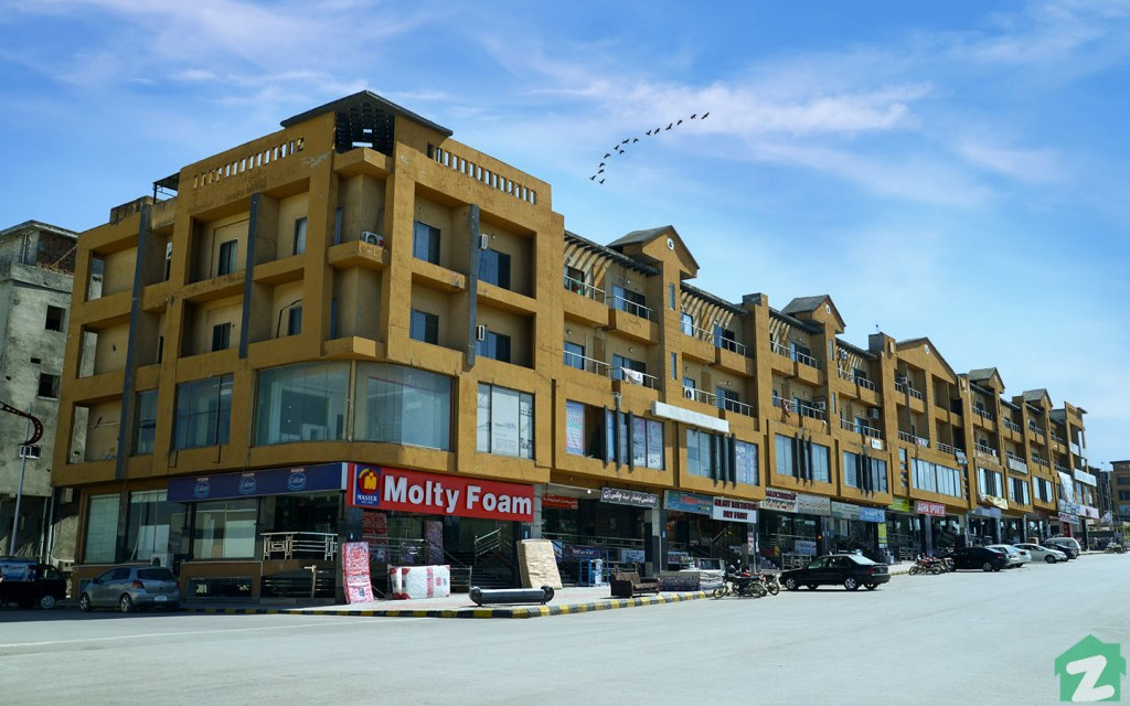 Bahria Town Islamabad has designated residential and commercial areas in each phase