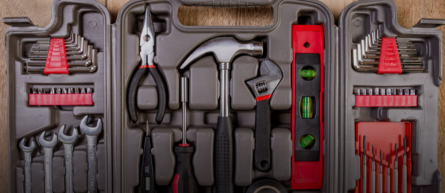Always have a basic car toolkit handy for emergencies