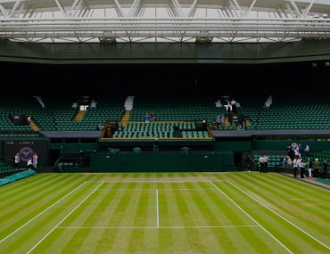 Wimbledon's Centre Court is where the final match is played every year