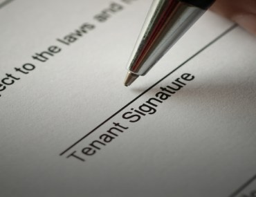 Do not sign a rental agreement with considering all of the related factors
