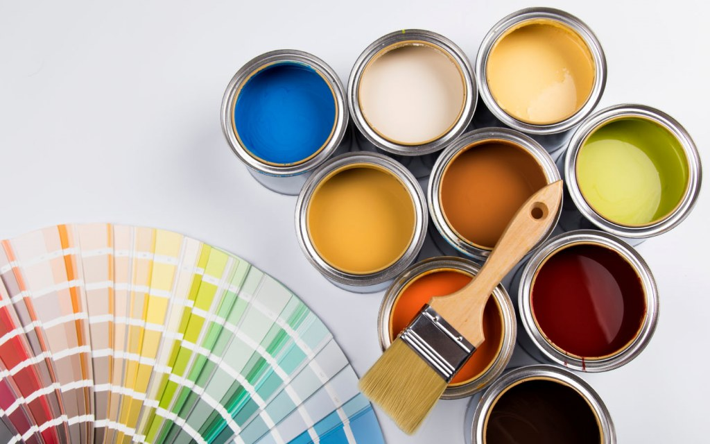 Paints are available in varying hues, making it easier to find the right shade