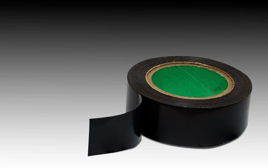A roll of both duct tape and electrical tape can be a lifesaver in an emergency