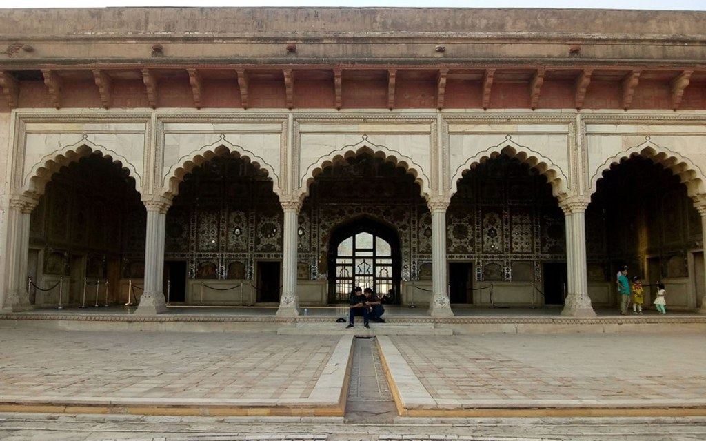 Sheesh Mahal in Shahi Qila Lahore