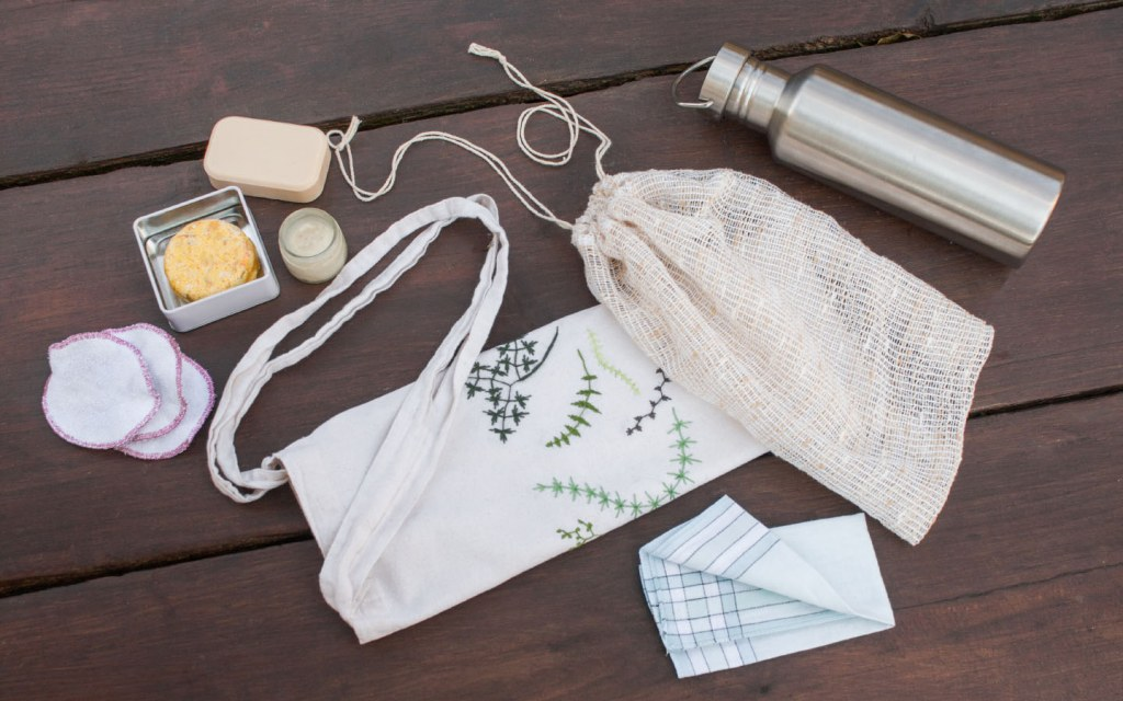 Reusable eco friendly bag