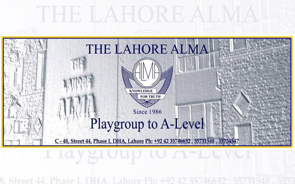 The Lahore Alma School offers O/A Levels educations systems to the students