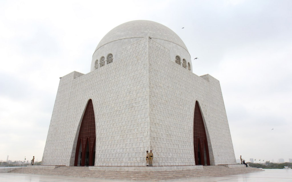 One of the most visited places in Karachi is that of Quaid's mazaar