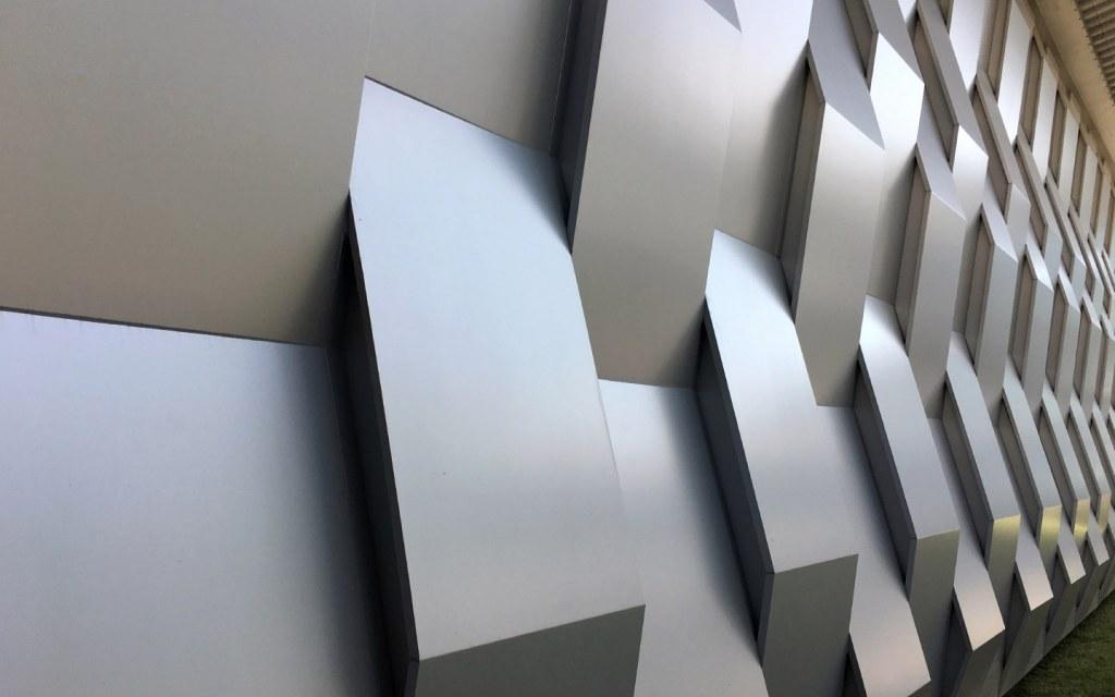 Fiberglass wall panels with decorative modern deisgns