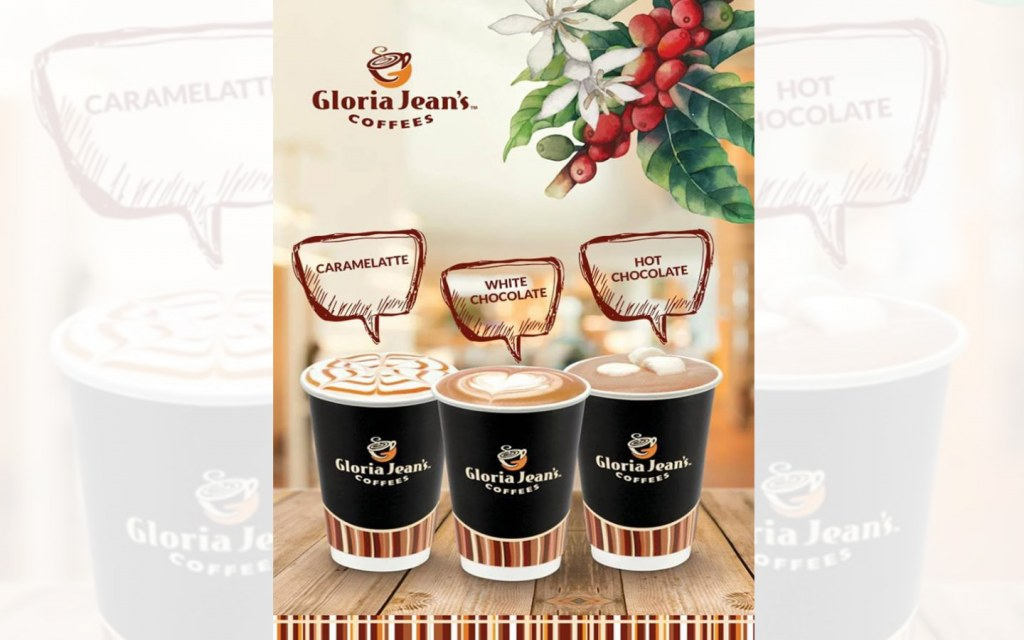 Work and enjoy coffee at Gloria Jeans Lahore
