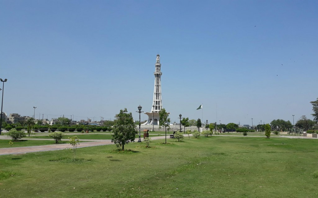 Greater Iqbal park is an amazing place to visit in Lahore