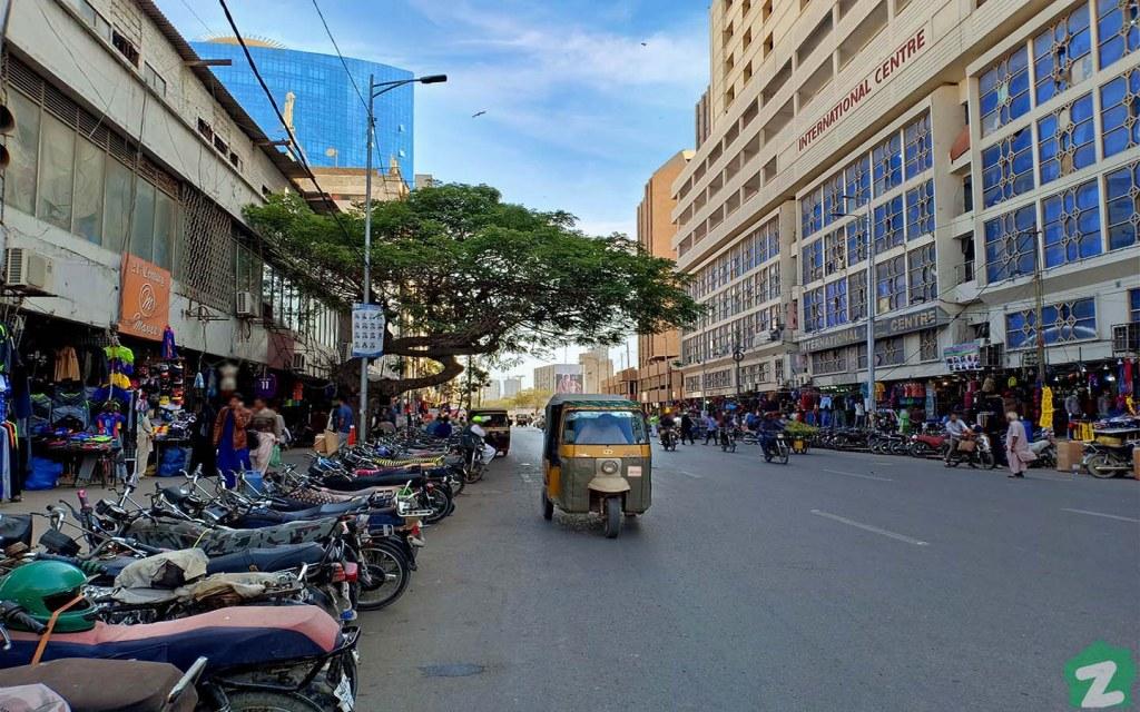 Zainab Market in Saddar Karachi