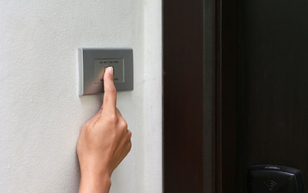 Tenants will often vacate the property during the day to avoid confrontations with landlords