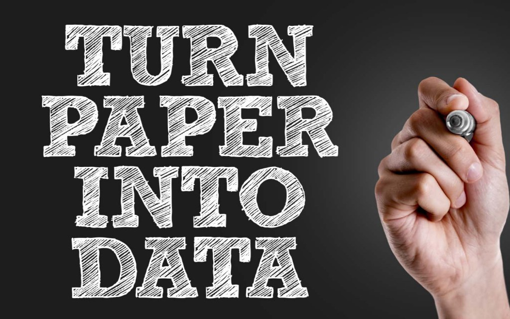 Keeping digital records will automatically reduce your need for a paper trail