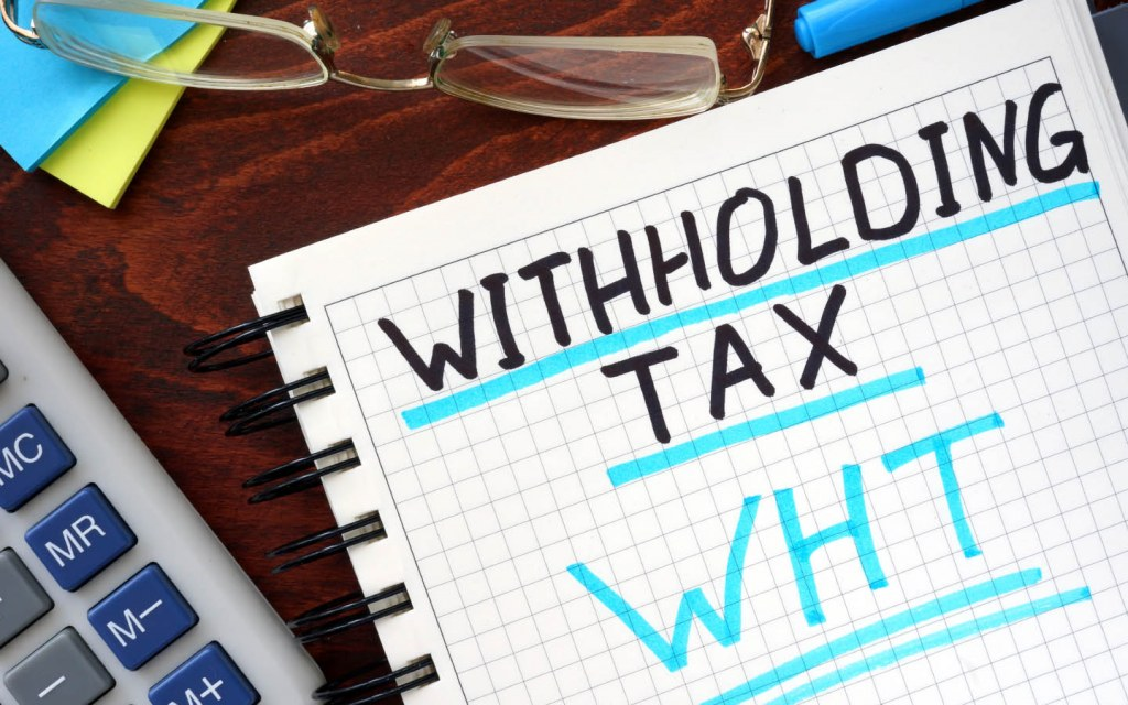 New rates for withholding tax have also been announced for this year