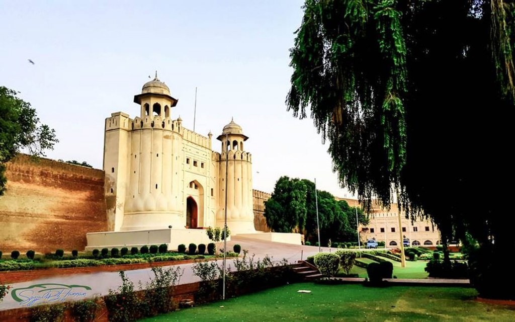 Location of Lahore Fort