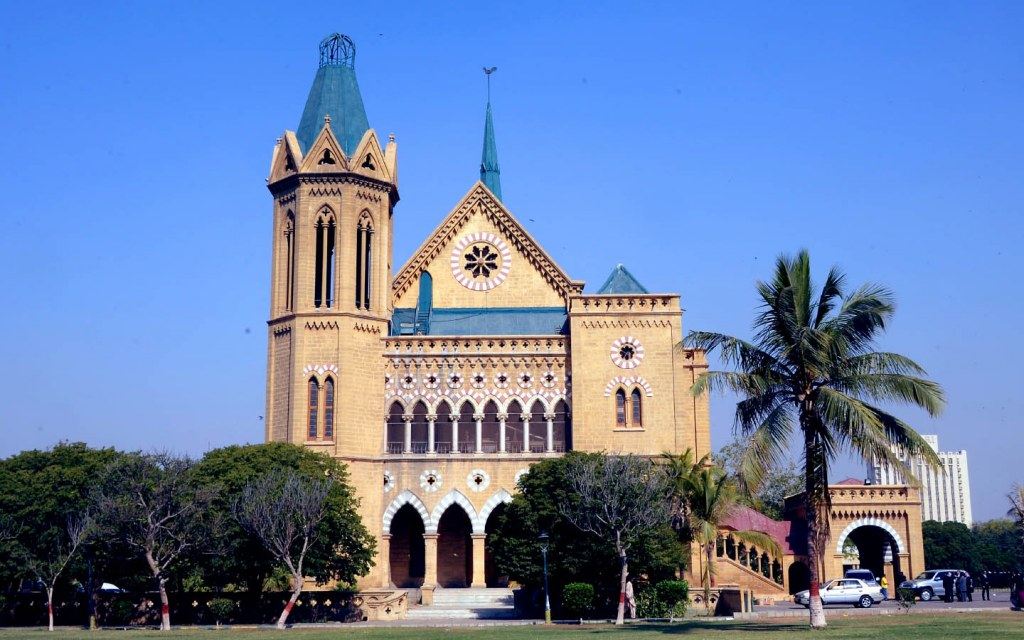 Frere Hall is an architectural gem