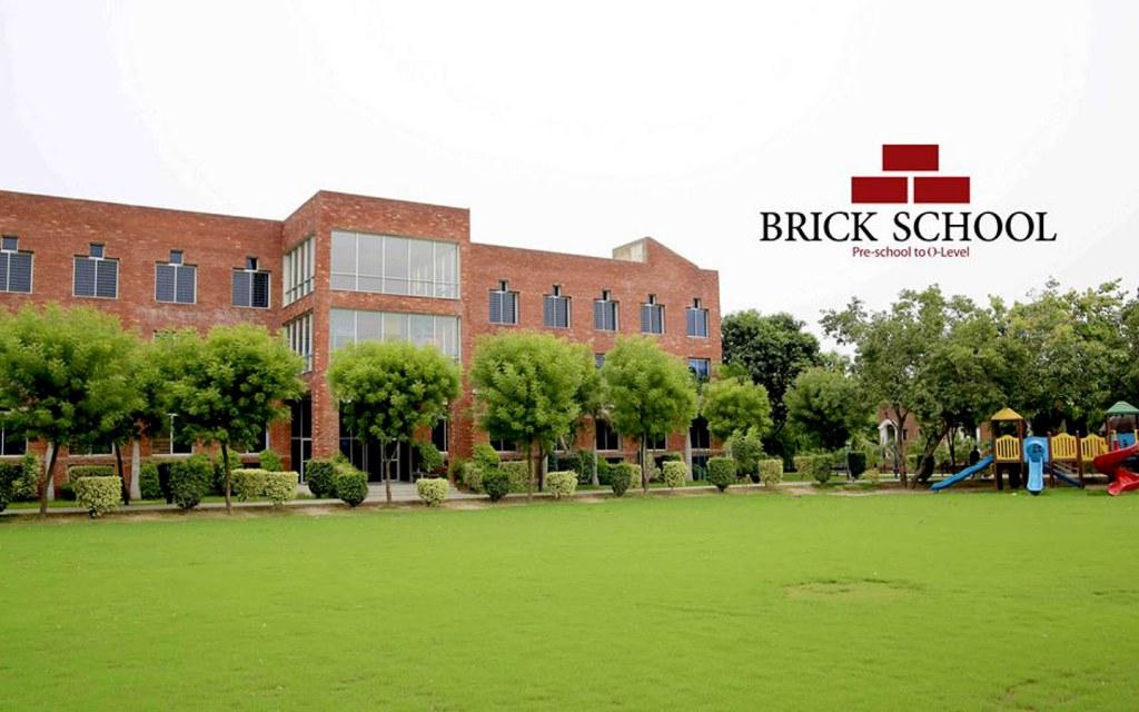 Brick School Building in DHA Lahore