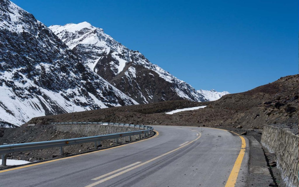 The highway starts from Hasan Abdal in Punjab and end  at the far west of city of Kashgar