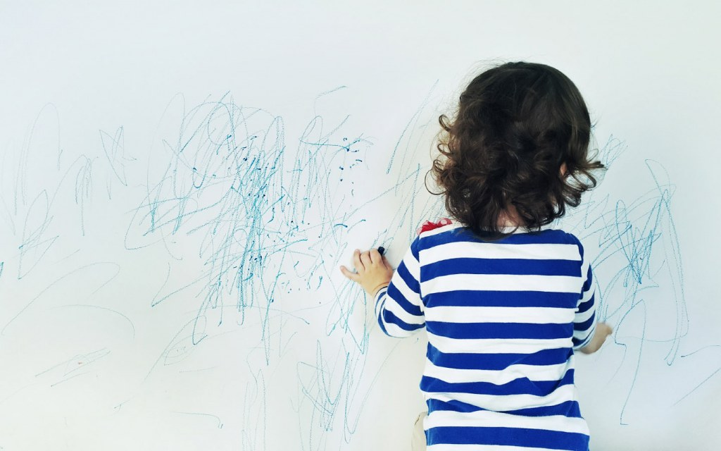 Painted walls are easier to maintain for all tenants, even those with kids