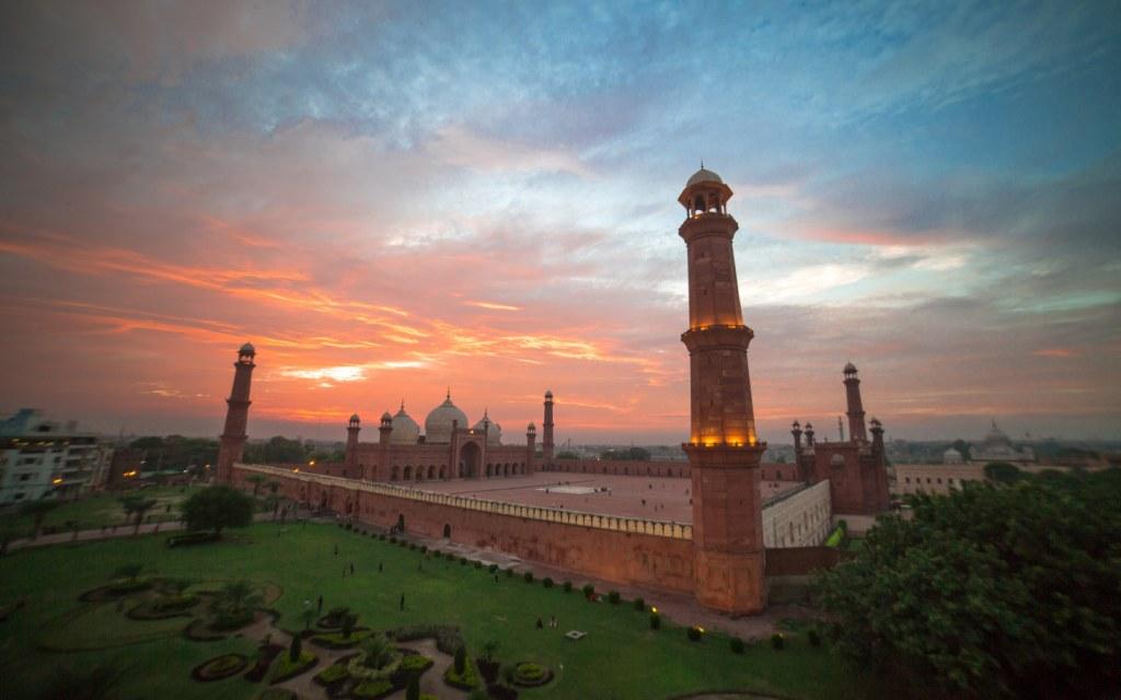 Badshahi Masjid is a majestic remain of Mughal Era in Lahore