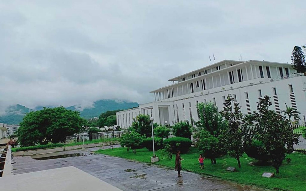 the official residence of the President of Pakiistan