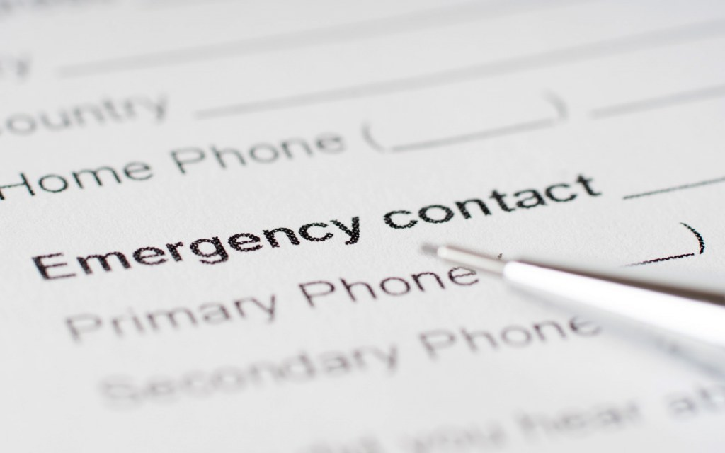 Always collect emergency contact numbers from your tenants so that you can call up their loved ones in case of a disappearance