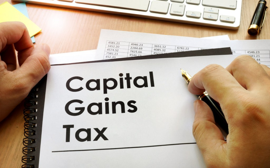 Capital gains are now a part of the government's income tax regime