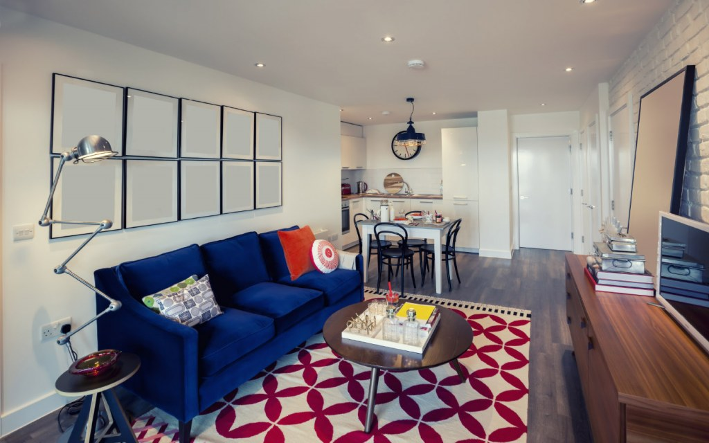 An organised living space that's just awaiting its owner, generally indicates that your tenant is out of contact temporarily