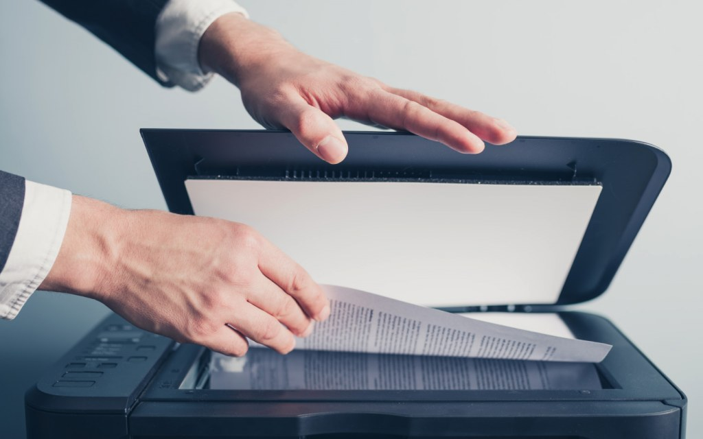 Give your employees free access to the scanner so that they can help you go paperless at work