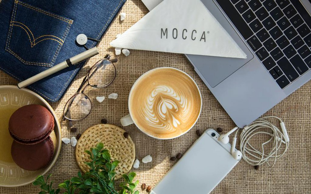 enjoy working in a relaxed environment at Mocca Coffee lahore