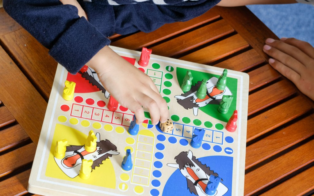 Board games teach patience to kids of all ages